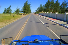 Infinita highway (Mallu Ribeiro) Tags: travel blue brazil sky tree nature highway jeep