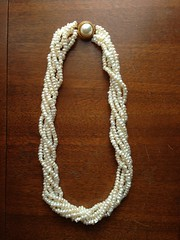 Fresh Water Pearl Multi Strand Necklace (blackthorne56) Tags: finds goodwill