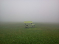 foggy bench (stansvisions) Tags: fog bench fun virginia us unique foggy aftonmountain unlimitedphotos stansvisions