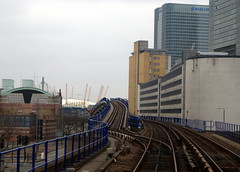 Docklands Light Railway at Westferry (chrisbell50000) Tags: light london track railway rails docklands dlr westferry chrisbellphotocom