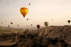 Balloons in Cappadocia (MrHicks46) Tags: turkey flickr balloon cappadocia goreme nex rtw2013