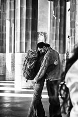 El Reencuentro (ioshi89) Tags: barcelona street people photography spain bcn cano 2013