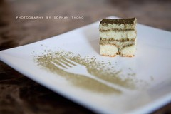 Green Tea Tiramisu (Sophan Thong) Tags: food cake artistic tiramisu greentea greenteatiramisu