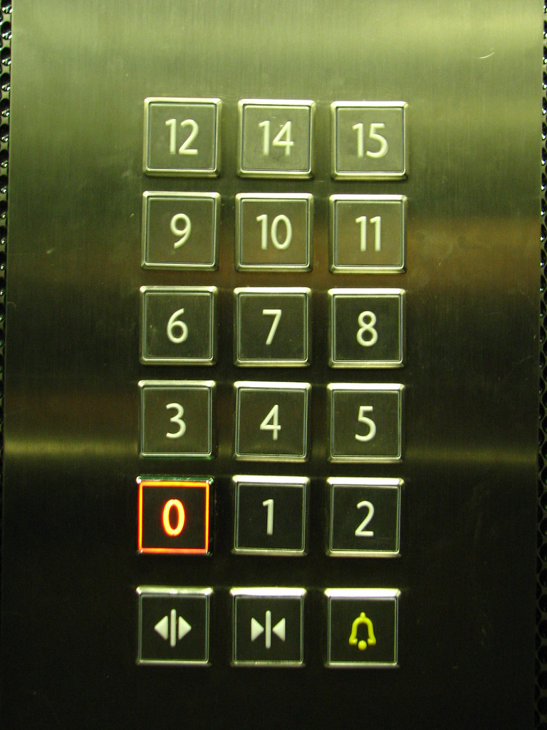 No 13th Floor (fdecomite) Tags: Elevator Bridges Superstition Itc 2013