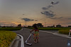 CephalopodDreams.20100903.1107 (cephalopoddreams) Tags: family sunset japan airplane luna nihon kickboard smugmug ehime matsuyama yodo tanbo ricefileds ehimeprefecture cephalopoddream