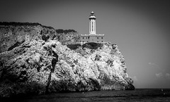 Capri-2078 (sally henny penny) Tags: blackandwhite italy lighthouse monochrome capri italia 24105mmf4lisusm canon6d lightroom5 capri2013