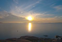 Sunset (OCS82) Tags: sunset sea suomi finland meri archipelago auringonlasku kustavi