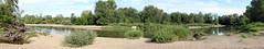Bord de Loire Panorama (LePierre) Tags: france river eau burgundy sable cher bourgogne loire arbre douce bord charit fleuve sauvage vgtation nivre lacharitsurloire sablerie leborddeloire