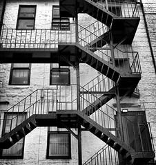 Scotland. Glasgow. Les ruelles (niko'n) Tags: england scotland stair glasgow angleterre escalier ecosse nicolaspourtout