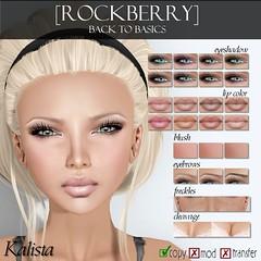 [ROCKBERRY] Kalista Basic ([ROCKBERRY]) Tags: skins bare makeup fresh secondlife rockberry