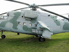 """Mi-24 Hind (10) • <a style=""""font-size:0.8em;"""" href=""""http://www.flickr.com/photos/81723459@N04/9964191945/"""" target=""""_blank"""">View on Flickr</a>"""