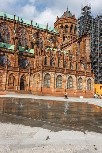 Arrière de la cathédrale