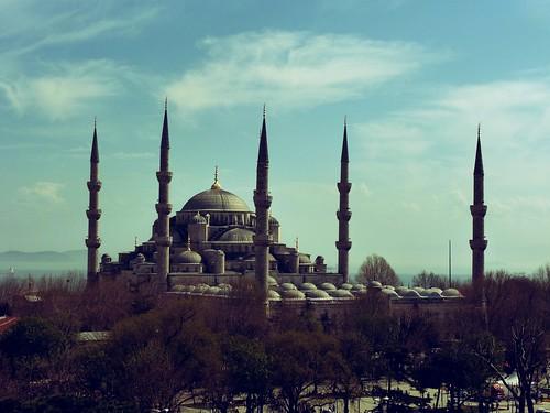 Grande mosquée bleue, Istanbul, Turquie