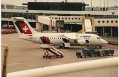 HB-IXF (SoCalSpotters) Tags: hbixf crossair amsterdam ams eham bae 146 rj85 avro socalspotters