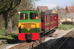 """Beaudesert"" (2) (Banchango) Tags: steamrailway narrowgaugerailways heritagerailway alankeef leightonbuzzardnarrowgaugerailway narrowgaugediesel nameddiesellocomotives"