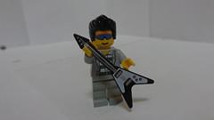 Lego Elvis Presley (legocatseyeguy) Tags: hair lego guitar elvis jail presley mechanic minifigure elvispresley