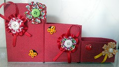 Porta treco feito de caixa de leite (Cantinho do Patch by Talissa) Tags: flores reciclagem sustentabilidade portatreco reaproveitamento caixadeleite