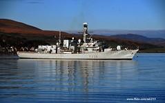 HMS Northumberland (Zak355) Tags: bay scotland riverclyde ship vessel frigate warship royalnavy rothesay isleofbute f238 hmsnorthumberland