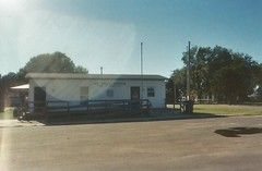 14. Their ''mobile home'' post office, Yoder, 9 5 04 (leverich1991) Tags: haven 2004 hope exploring north mount harvey kansas patterson reno newton hutchinson sedgwick yoder halstead hesston burrton