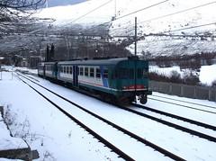 ALn 668 3327 (c_2323) Tags: neve treno abruzzo trenitalia sulmona avezzano aln668 cocullo