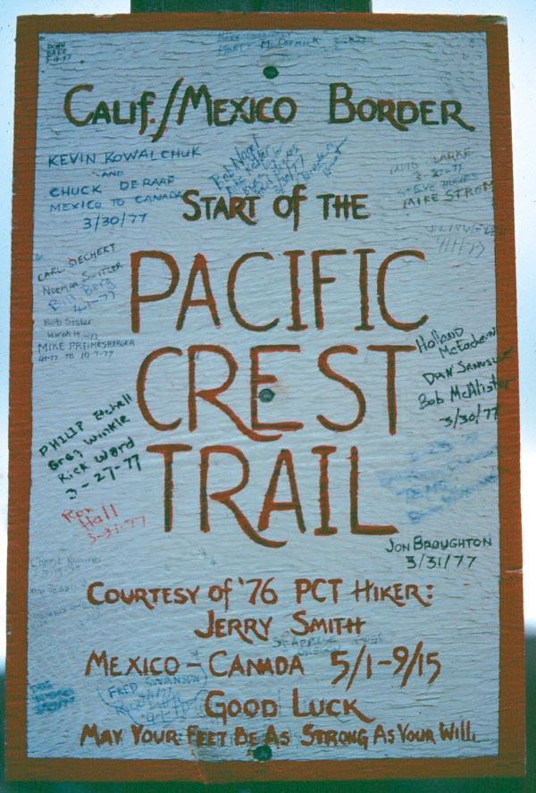 Historical Pacific Crest Trail Association