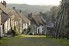 Gold Hill (David Canon) Tags: street autumn hill cobbles shaftesbury goldhill
