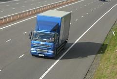 DK09 GRU (Cammies Transport Photography) Tags: truck lorry solutions recycling cf flyover sims daf m74 lockerbie dk09gru