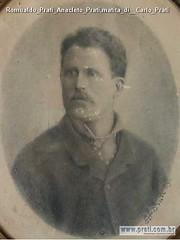 Romualdo Prati Anacleto Prati,matita di  Carlo Prati