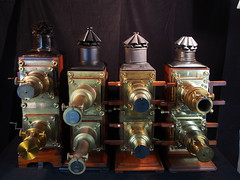 4 Biunial Mahogany Magic Lanterns (The Dagestad Collection) Tags: magic lantern laterna magica lanterne magique tryllelykt film moviemuseum precinema projector projecteur technical antique musée fantasmagoria mahogany brass museocinema opticaltoy vintage collection sciencemuseum beau jouetsoptique collectibles vieux märchen beautiful beauty 19century innovation spielzeuglanterne magiclantern laternamagica lanternmagique framheim slides glasbilder british english german french fantascope phantascope cinemamuseum philosophicalinstruments lanternemagique steampunk burningman preuss tekniskmuseum museum vintagecinema cinemaparadiso earlycinema filmmuseum bioscope hometheatre kino lecinemachezsoi mls movie collectorsobject restoration sammlung science optics silentmovie stummfilm blechspielzeug magiclanternsociety oldstuff gamleting