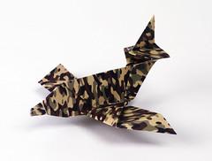 Origami création - Didier Boursin - Rafale