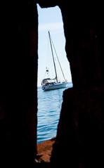 A travers la roche (Sbastien Huette) Tags: voyage mer erasmus murcia espagne cartagena paysages 2012 dcouverte tudes tranger 2013 ducis