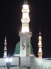 Al-Masjid an-Nabawi (Ahmed_Fathi) Tags: madina annabawi almasjid