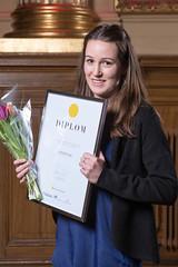 Emma Åkerlund från Stöten, nominerad till Web Service Award 2013 i klassen E-handel.