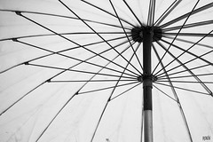 (WACHIWIT) Tags: white black art rain umbrella  wachiwit