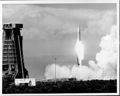 Atlas 79D Launch (San Diego Air & Space Museum Archives) Tags: atlas atlasmissile 79d atlas79d