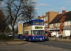 Not long to go (MCW1987) Tags: travel west green national mk2 express midlands metrobus twm mcw 3022 mcwmetrobus acocks mk2a f22xof