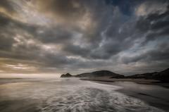 West Coast (Nick Twyford) Tags: longexposure newzealand seascape clouds nikon waves wideangle auckland nz northisland westcoast bethellsbeach tehenga coastallandscape leefilters 1024mm d7000 lee09nd lee06gndsoft phottixgeoone