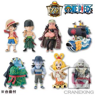 【更新官方宣傳圖】One Piece World Collectable Figure 海賊王 WCF系列 Vol.34 魚人島篇