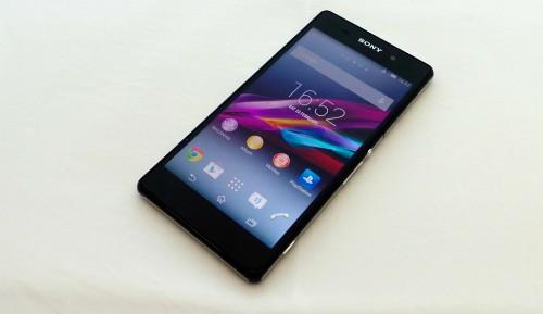 Sony Xperia Z2 front