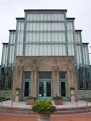 Jewel Box (Diorama Sky) Tags: door window glass wall architecture stlouis entrance greenhouse missouri artdeco saintlouis forestpark dioramasky williamcebecker