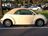 VW New Beetle Convertible 1. Serie Verdeck