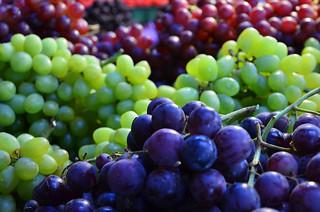 grapes, Granville Island Market