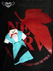 Rei Ayanami school uniform