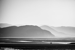 West Shore (Roj) Tags: uk blackandwhite bw beach monochrome wales mono powershot hills llandudno northwales westshore gogleddcymru canong1x photographersontumblr