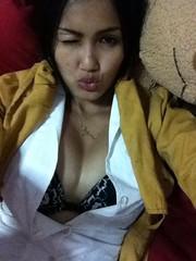 Rojana Thonmart (Jo.Anna1980) Tags: sexy girl asian tits fb bra dancer thai hottie cleavage boob unbuttoned facebook fbhottie