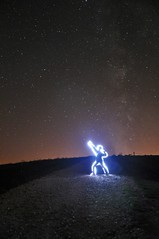"Usain bold dit ""la foudre"" (Ok Coraline) Tags: lightpainting pailledefer"