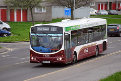 117 (Callum's Buses & Stuff) Tags: bus buses volvo edinburgh lothian eclips lothianbuses edinburghbus b7rle madderandwhite madderwhite sn04nhh