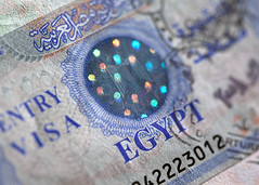 Spots on a Visa... (Lady Haddon) Tags: egypt visa 2014 foreigntravel passportvisa egyptvisa apr2014 egyptentryvisa