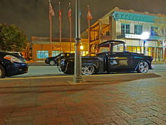 pickup (army.arch) Tags: street city night truck photography downtown florida pickup scene fl pensacola