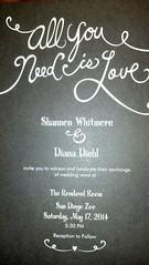 The Invitation (Diana Diehl & Shannon Whitmore) Tags: wedding invitation beatles sandiegozoo steampunk diywedding alternativewedding steampunkwedding zoowedding steampunksafari steampunksafariscifiwedding